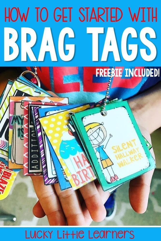 Brag tags are a complete game changer when it comes to classroom management. They will transform your classroom and motivate your students to work hard and do their best. This post will explain everything you need to know to get started using brag tags in your classroom. Free brag tags are also included!