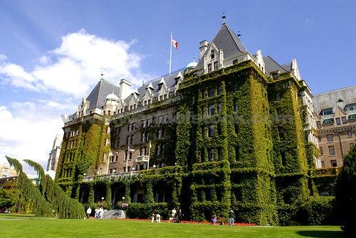 Fairmont Empress Hotel, Victoria, British Columbia, Canada