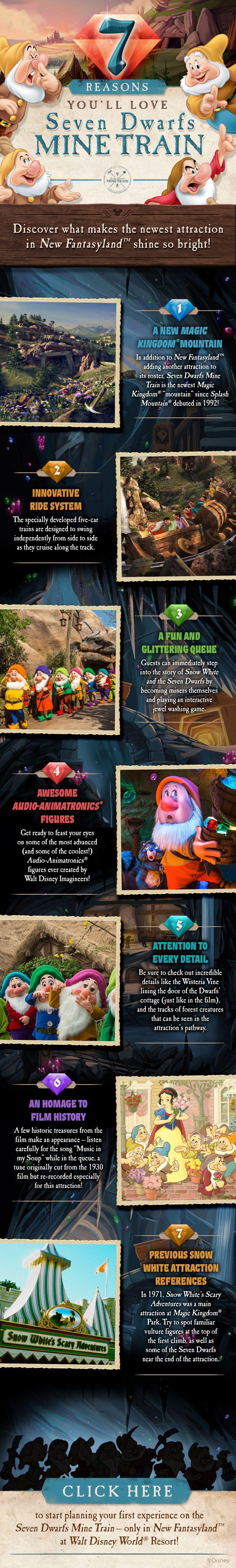 7 reasons you'll love Seven Dwarfs Mine Train! #vacation #tips #tricks #SnowWhite