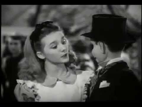 Bobby Driscoll and Kathryn Beaumont in One Hour In Wonderland
