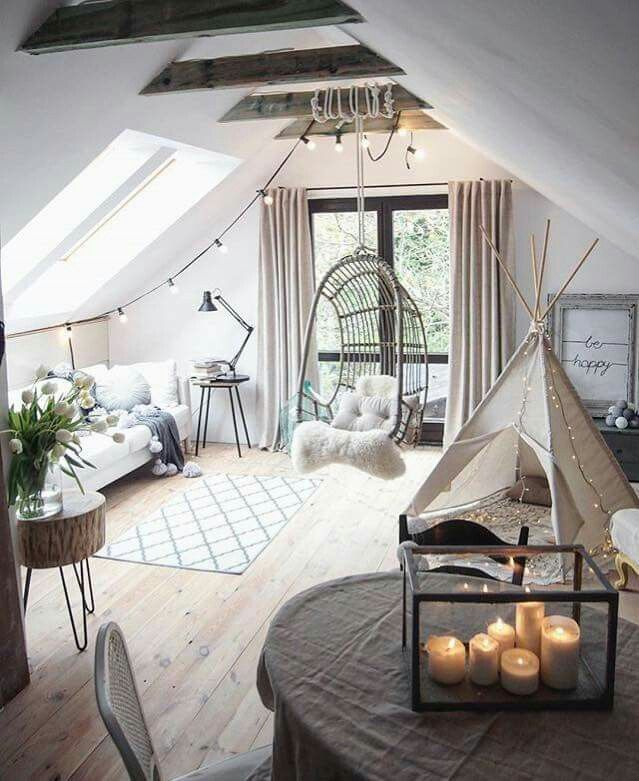 30 Special Bonus Room Concepts For Your Home Attic Living Rooms Bedroom Design Attic Bedroom Designs