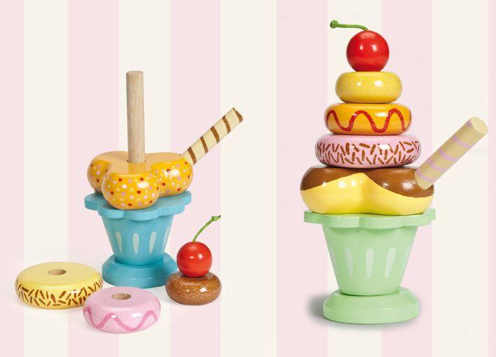 Le Toy Van Honeybake Ice Cream Sundae Shop Online - iQToys.co.nz