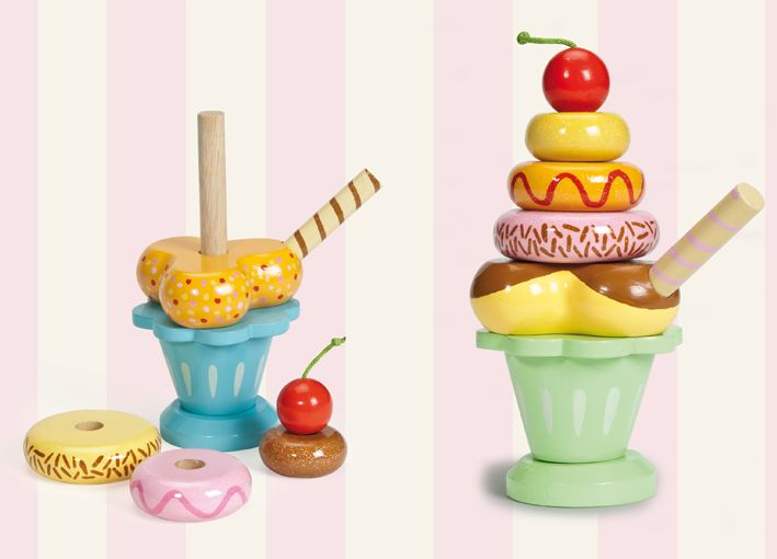 Le Toy Van Honeybake Ice Cream Sundae Shop Online - iQToys.co.nz