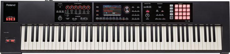 NEW! Roland FA-08: Synthesizer Workstation Yang Memudahkan Pekerjaan Anda Roland Seri FA baru memiliki kemampuan untuk mencapai real-time maksimal, memiliki etos kerja ultra-cepat, fleksibilitas tinggi, dan mendukung apa pun jenis musik yang Anda mainkan. FA-08 sungguh merupakan penyempurnaan dari imajinasi akan sebuah musik workstation, dilengkapi dengan fitur 88-note weighted-action keyboard, koleksi sound luar biasa warisan dari produk unggulan INTEGRA-7,