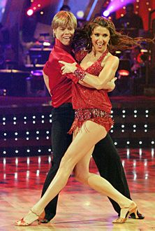 Derek Hough and Shannon Elizabeth -  Dancing With The Stars
