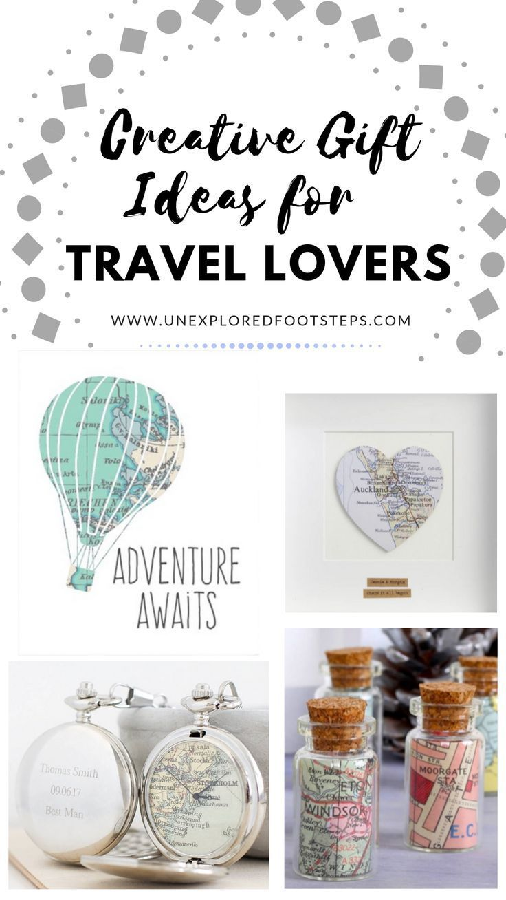 Creative gifts ideas for travel lovers creative gifts
