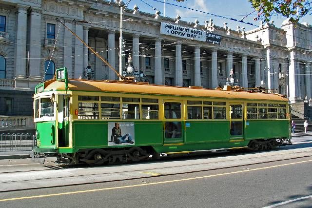 Don't worry about hiring a car to get to your meeting just hop on one of Melbournes iconic trams.