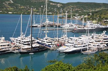 Sailing yachts and catamarans rental in Caribbean islands. Crewed or bareboat yacht charter in British Virgin Islands (Tortola, BVI), Antigua (Jolly Harbour Marina), Guadeloupe (Pointe-à-Pitre), Grenada (True Blue Bay), Martinique (Le Marin), Saint Martin (Anse Marcel, Marigot), Saint Vincent (Blue Lagoon Marina) and Puerto Rico (Fajardo)