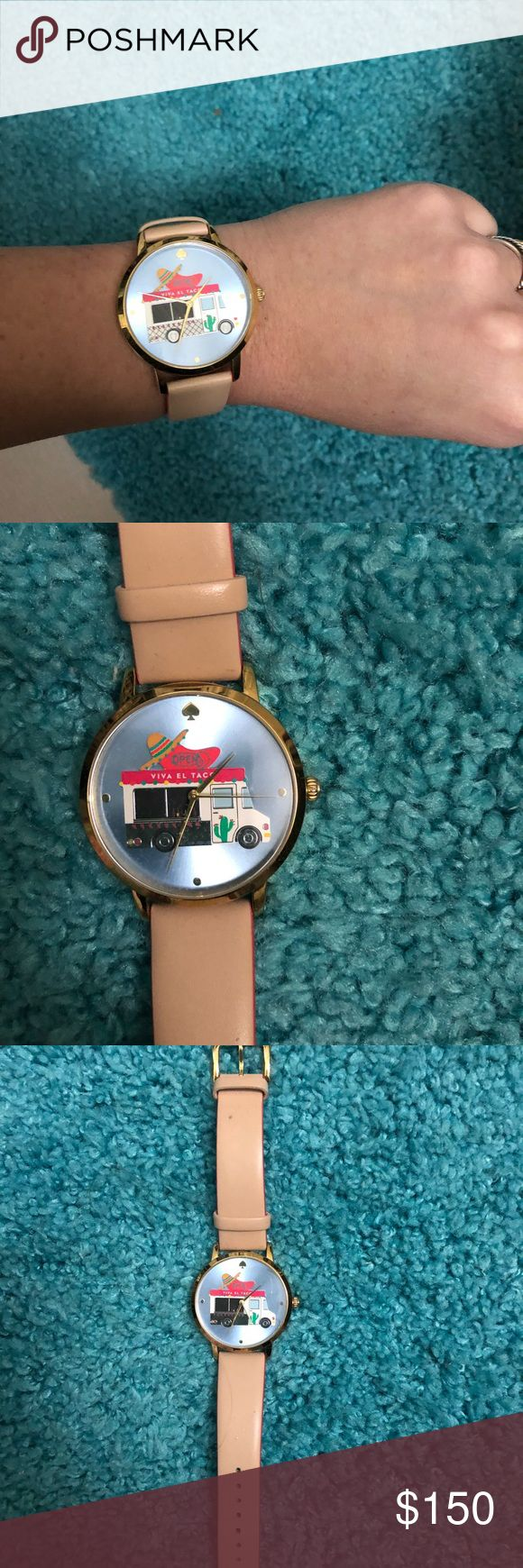 Kate spade Taco Watch! In excellent condition, only worn once! $100% authentic bought at the Nordstrom semi annual sale :) taking offers! kate spade Accessories Watches