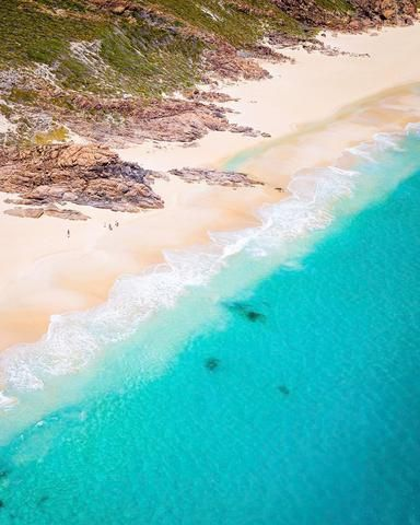 SW0410 - Wyadup  Wyadup is our favourite beach in Western Australia. It has the perfect mix of calm and clean summer water perfect for swimming, winter waves for surfing and large rocky outcrops for exploring.