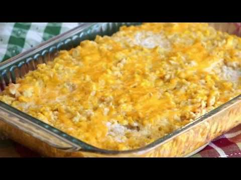 The best cream corn casserole recipe ever! Made wi…