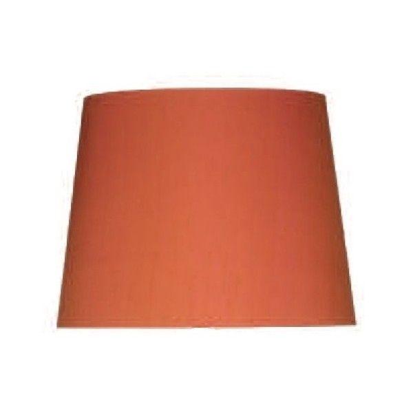 Zuccaro Large Silk Empire Drum Shade Firefly Orange - catalogue