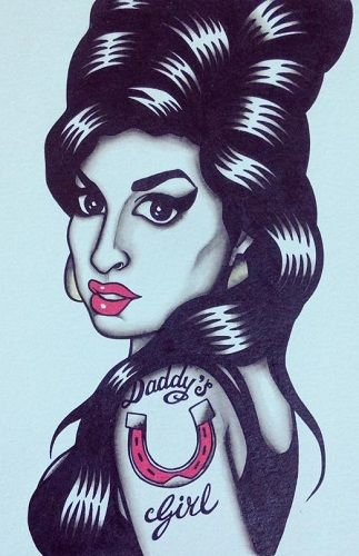 74 best amy winehouse tattoo inspirations images on pinterest amy winehouse urmus Image collections