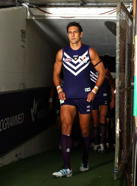 Matthew Pavlich from the Fremantle Dockers