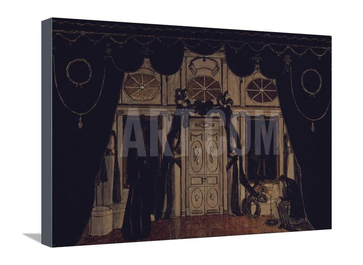Stage Design for the Theatre Play the Masquerade by M. Lermontov, 1917 Giclee Print by Alexander Yakovlevich Golovin at Art.com