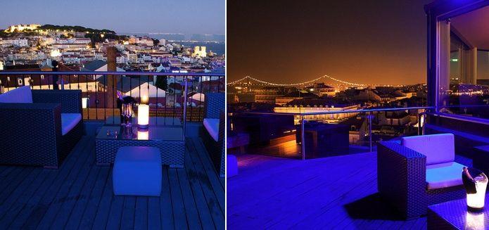 rooftop bar Silk club