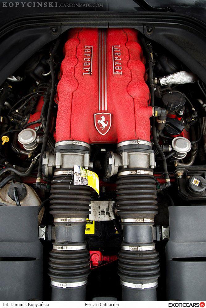The red heart of Ferrari California http://exoticcars.pl/testy/ferrari-california/