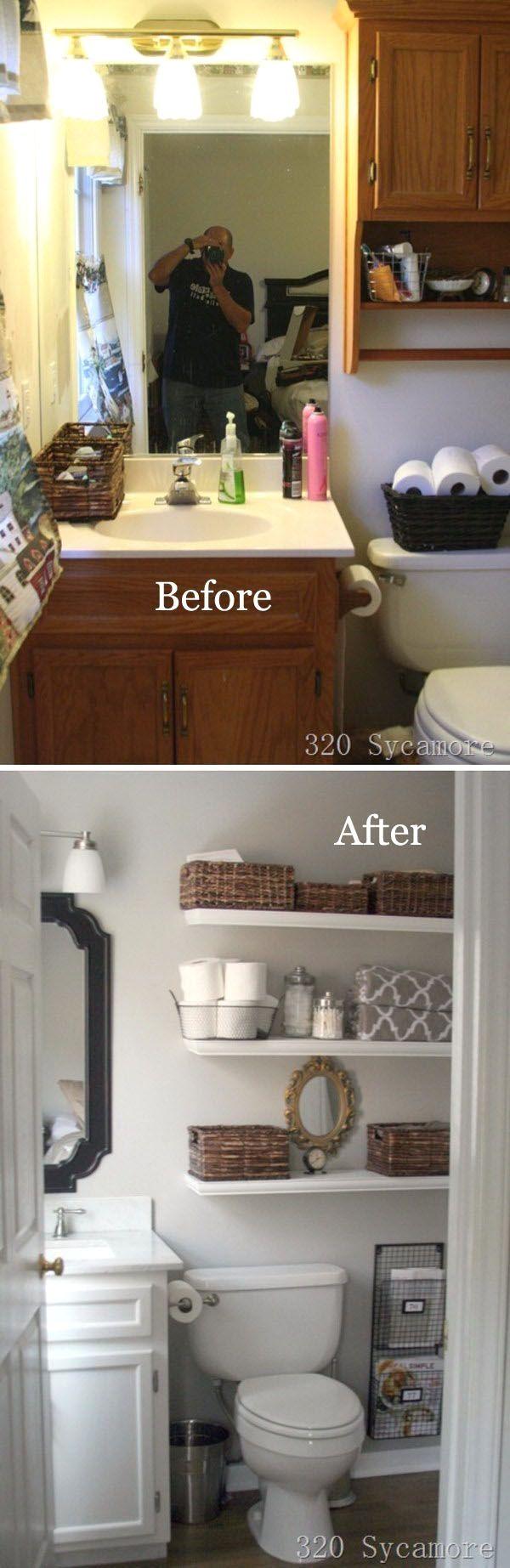 Gorgeous Master Bathroom Makeover.