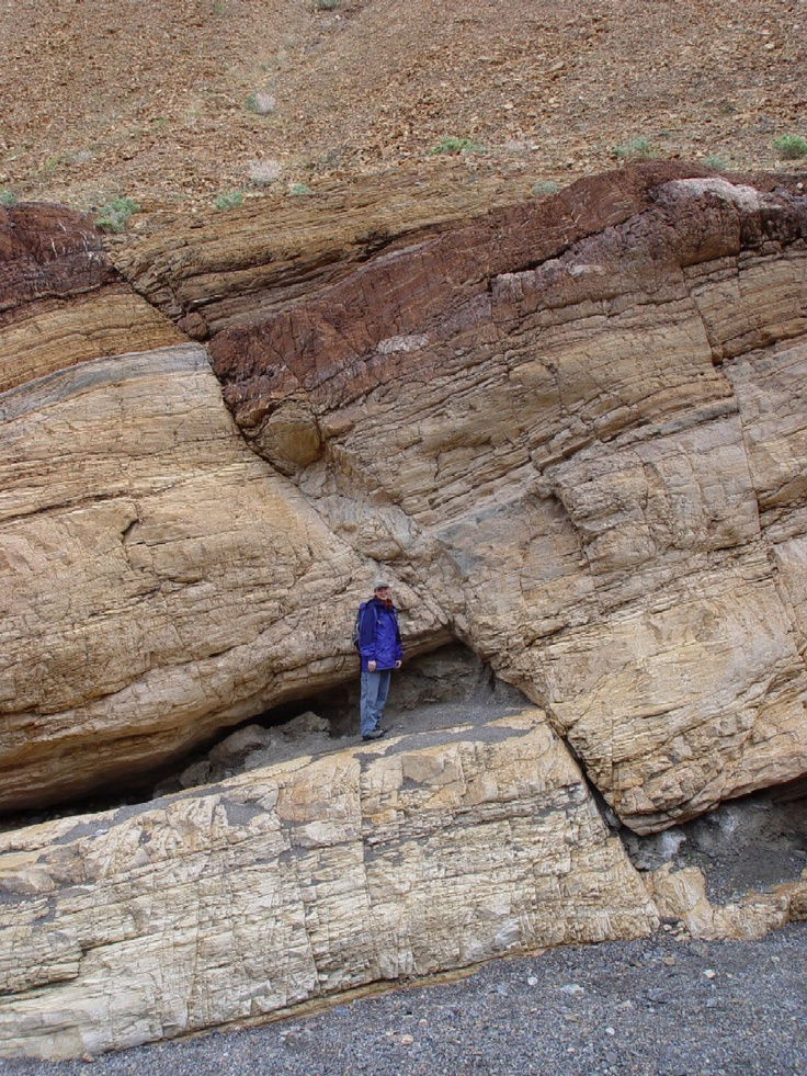 What about this fault?  Look at the rock layers...