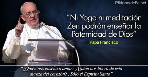 """""""Tendremos un tiempo de oscuridad, prepara tu corazón para ese momento y reza."""" Papa Francisco"""