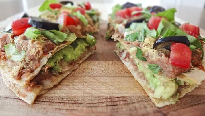 Mini Mexican Pizza Recipe | One Ingredient Chef