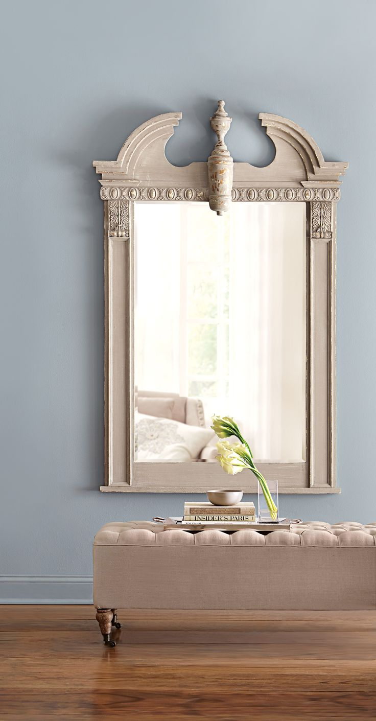 244 best decor images on pinterest wall mirrors console tables if this isn t a statement making mirror we don t know