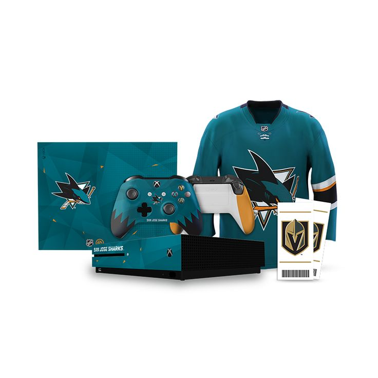 ea sports san jose sharks prize  One (1) Grand Prize: Winner will receive a prize trip to Las Vegas, Nevada to attend the San Jose Sharks vs. Vegas Golden Knights game on March 31, 2018, a custom San Jose Sharks-branded Xbox One console, two San Jose Sharks team jerseys, one (1) copy of each of the following videogames for Xbox One: NHL 18, FIFA 18, Madden NFL 18, and NBA LIVE 18.