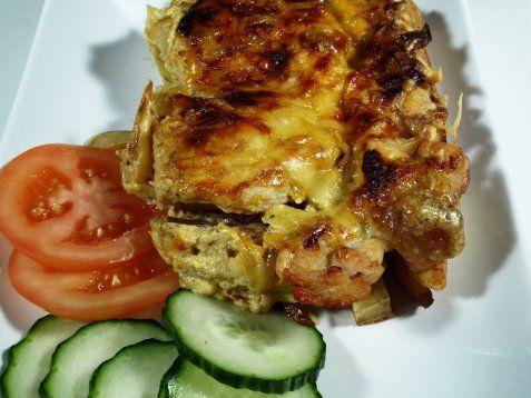 Bilde av Grillet kylling med eksotiske poteter.