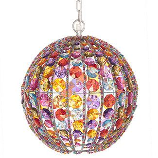 Chandeliers- Multi-coloured Chandelier Ball