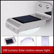 2016 Populaire nouveau conçu Foncé Solaire 16 SMDLED Motion Sensor PIR Mur extérieur Monté solaire Jardin Lumières ou lampes
