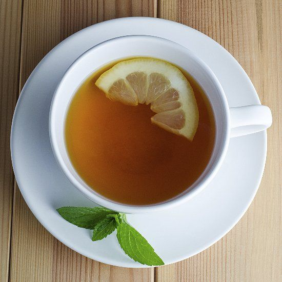 Who knew? A hot cup of peppermint tea can help you lose weight.
