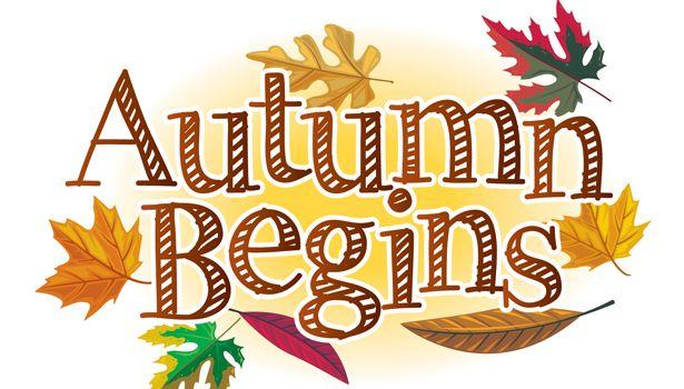 autumn-begins-clipart-1.jpg (615×350) | Hello autumn, Fall ...