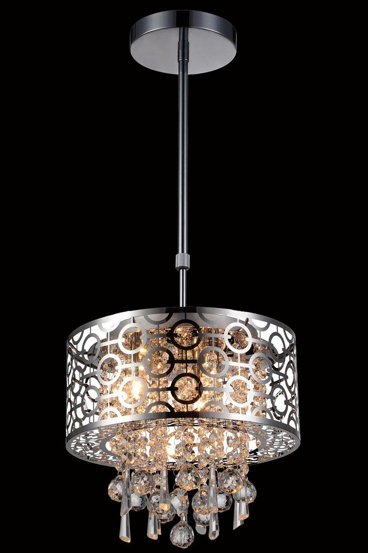 Wh wholesale vintage lead crystal table lamp buy cheap - Buy elegant lighting 2059 sterling collection pendant lamp d 12 h 10 lt 3 chrome finish royal cut crystals at harvey haley for only 290 00