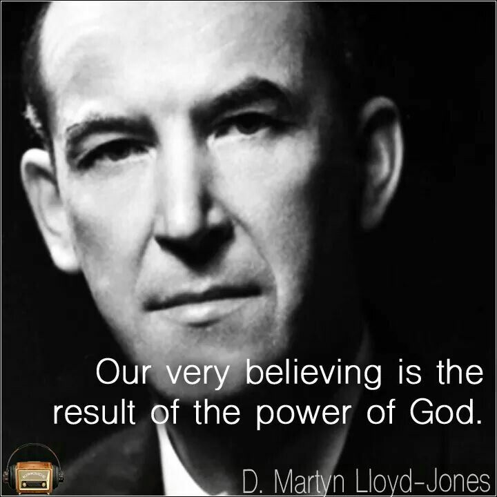 Martyn lloyd jones joy unspeakable