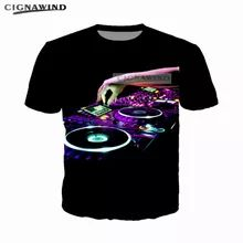 Fashion cool hip hop Tiesto DJ Music t shirt men/women 3D printed t shirts casua…