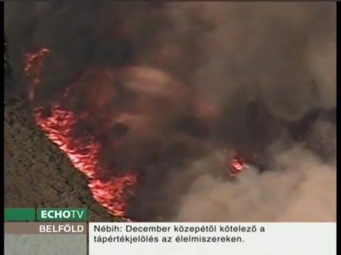 Természeti katasztrófák sújtják az Egyesült Államokat - Echo Tv