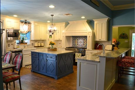 Really beautiful interior design by customers Mizell & Moore Interiors!
