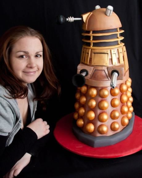 My inner Dr. Who nerd is showing but who cares! I love this cake! Well done!