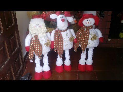 Muñeco de nieve Patas Largas 83 cm - YouTube