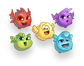 Melody Monsters // Character concept art from mobile game