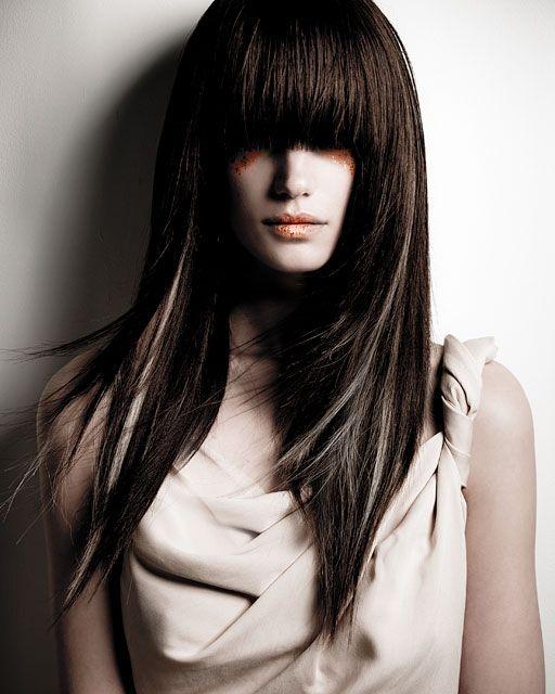 Hairstyle For Long Hair BANGS!