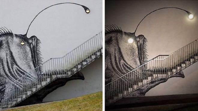 Pouliční umělec proměnil nudné schodiště na dokonalé umělecké dílo - Evropa 2