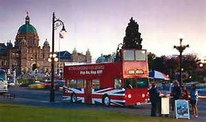 Double-Decker Buses Victoria BC