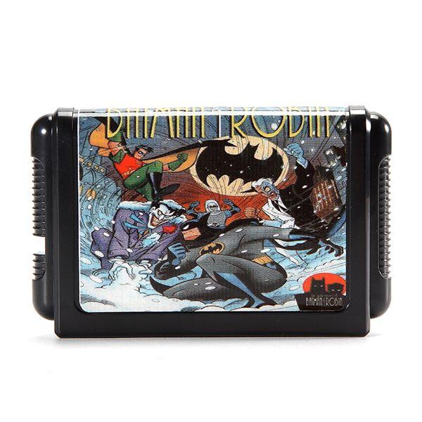 La Aventura De Batman Robin 16 Bit Md Tarjeta De Juego Para Sega