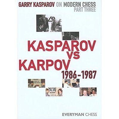 Garry garry #kasparov on modern #chess: pt. 3 everyman #hardback 9781857446258,  View more on the LINK: http://www.zeppy.io/product/gb/2/151743316535/