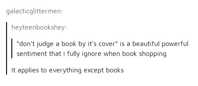 It literally does. Book cover designers need to realize that people WANT PRETTY BOOKS.