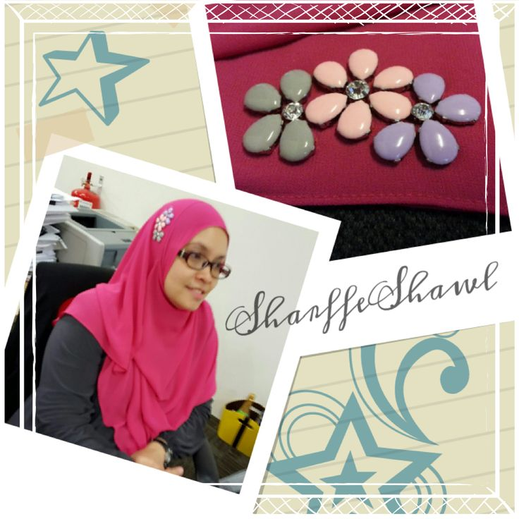 Satisfied client donning SharffeShawl