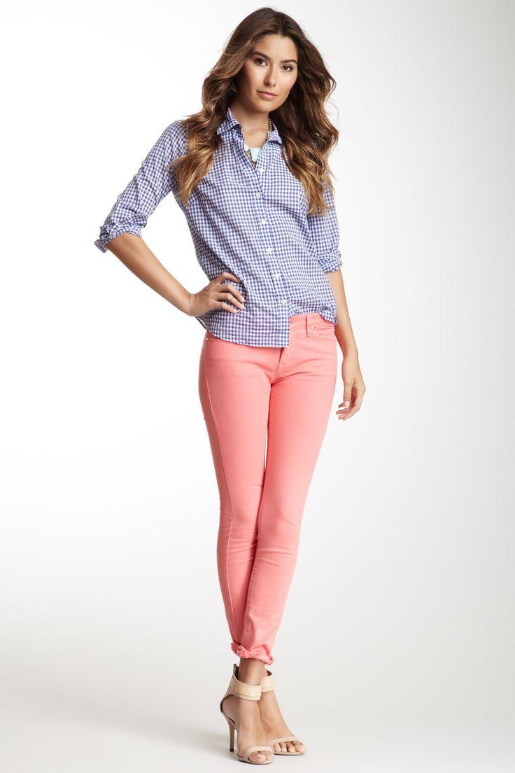 5 Pocket Twill Skinny Jean