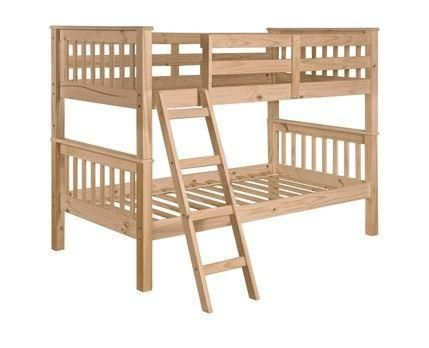 Unfinished Furniture Expo Solid Pine Bunk Bed