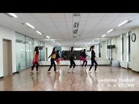 Fireball Pitbull line dance -
